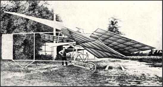 Vuia helicopter (1918) - foto preluat de pe en.wikipedia.org