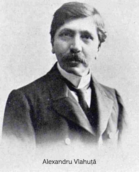 Alexandru Vlahuță (n. 5 septembrie 1858, Pleșești, azi Alexandru Vlahuță, județul Vaslui — d. 19 noiembrie 1919, București) a fost un scriitor român, una dintre cele mai cunoscute cărți ale sale fiind România Pitorească - foto preluat de pe www.rador.ro