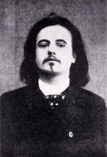 Alfred Jarry (n. 8 septembrie 1873, Laval, Franţa – d. 1 noiembrie 1907, Paris, Franţa) a fost un scriitor francez - in imagine, Portrait of Alfred Jarry in 1896 -  foto: ro.wikipedia.org