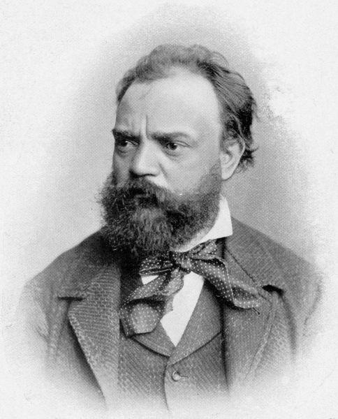 Antonín Leopold Dvořák (n. 8 septembrie 1841, Nelahozeves – d. 1 mai 1904, Praga) a fost un compozitor de muzică clasică originar din regiunea Boemia din Cehia - foto: ro.wikipedia.org
