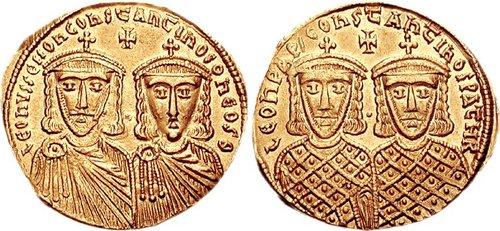 Constantin VI Orbul (Konstantinos Typhlos) (n. 14 ianuarie 771 e.n., Constantinopol, Imperiul Roman de Răsărit – d. 797 e.n.) a fost împărat bizantin între 780 şi 797, fiul lui Leon IV şi al Irinei - foto: ro.wikipedia.org