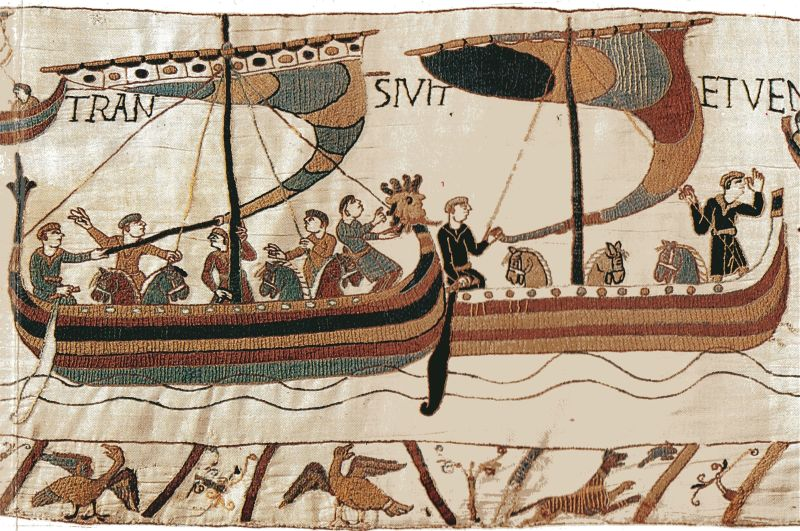 Cucerirea normandă a Angliei (1066) - foto preluat de pe ro.wikipedia.org