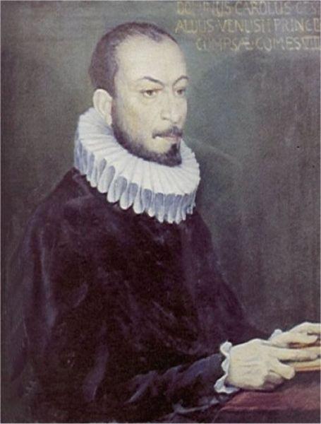 Gesualdo da Venosa (sau Carlo Gesualdo), compozitor italian renascentist, s-a născut la Napoli în 1560 şi a murit în Avellino în 1613 - foto: ro.wikipedia.org