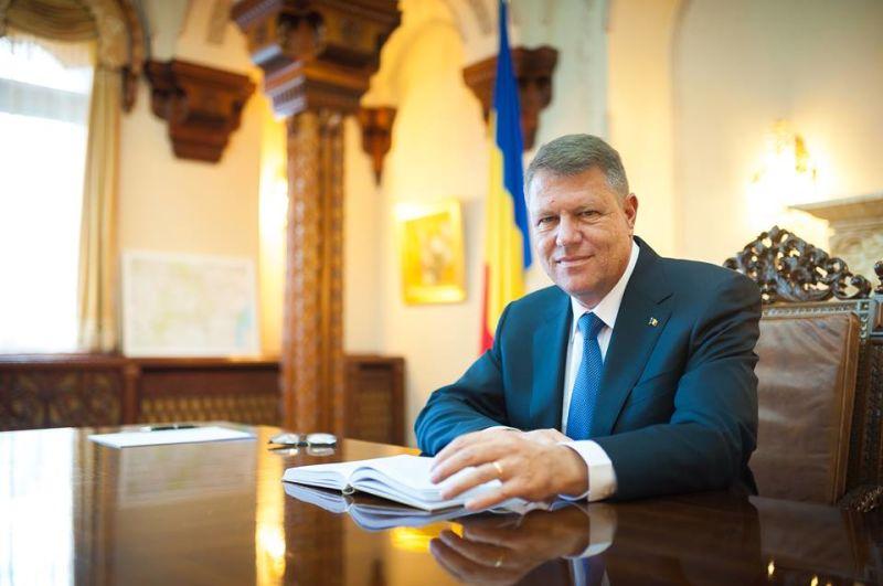 Președintele României Klaus IOHANNIS - foto: facebook.com