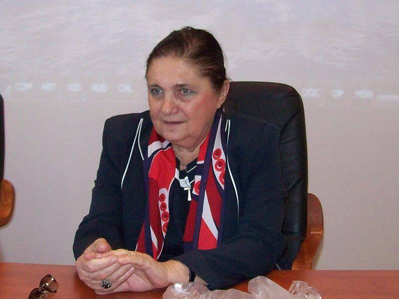 """Lucia Hossu-Longin (n. 24 septembrie 1941, Brăila) este un regizor de televiziune și autoare română, cunoscută publicului din România prin reportajele din serialul """"Memorialul Durerii"""" de la TVR, începând cu anul 1991. Până în anul 1980 a fost căsătorită cu scriitorul și ziaristul Valentin Hossu-Longin. În prezent este căsătorită cu Dan Necșulea - foto preluat de pe www.facebook.com"""