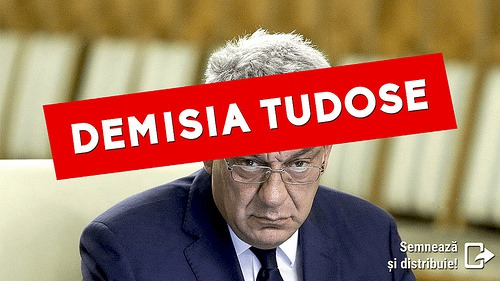 Tudose, demisia! - foto: de-clic.ro