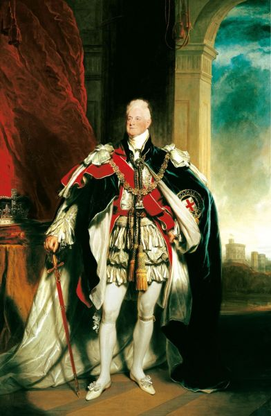 William IV (William Henry; 21 august 1765 - 20 iunie 1837) a fost rege al Hanovrei şi al Regatului Unit al Marii Britanii şi Irlandei de la 26 iunie 1830 până la moartea sa - in imagine, William IV, pictură de Sir Martin Archer Shee, 1833 - foto: ro.wikipedia.org