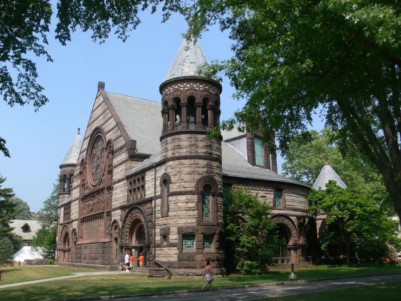 Clădirea Alexander Hall din campusul universităţii Princeton - foto preluat de pe ro.wikipedia.org