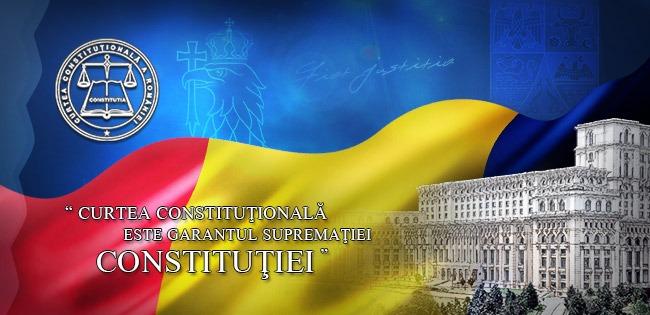 Curtea Constituțională - foto preluat de pe ccr.ro