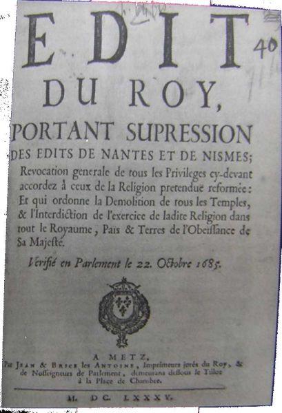 Edictul de la Nantes (13 aprilie 1598)- foto preluat de pe ro.wikipedia.org