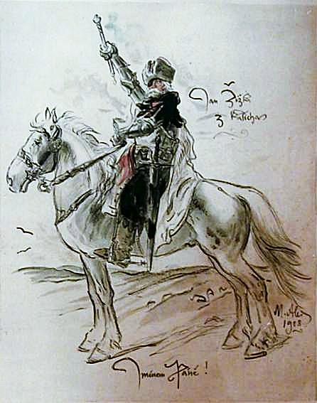 Jan Žižka (c. 1360 – 1424) a fost un general ceh şi lider husit, discipol al lui Jan Hus - foto: ro.wikipedia.org