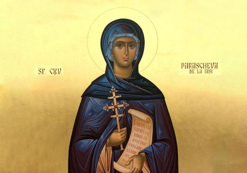 Sfânta Cuvioasă Parascheva de la Iași (14 octombrie) - foto preluat de pe ziarullumina.ro