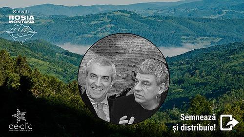 Nu cedăm Roșia Montană - foto preluat de pe declic.ro