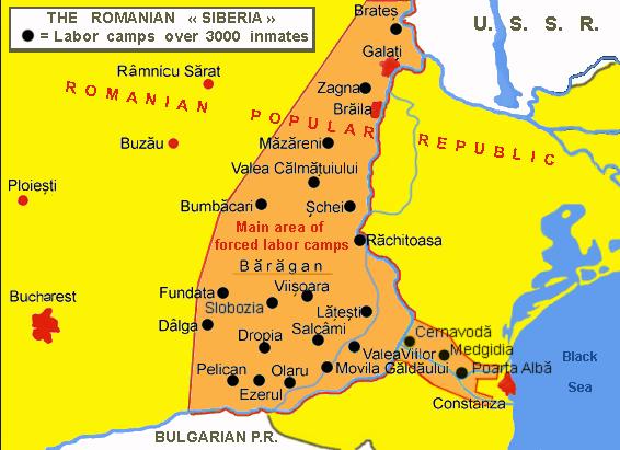 Bărăganul ca zonă de deportare între 1950 și 1989 - foto preluat de pe ro.wikipedia.org