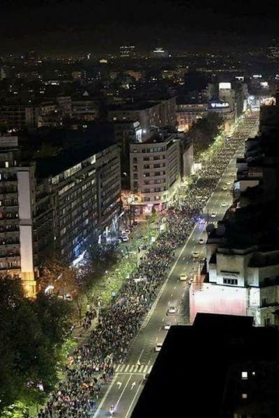 Marş – NU vrem să fim o nație de hoți! (5 noiembrie 2017) - foto preluat de pe facebook.com
