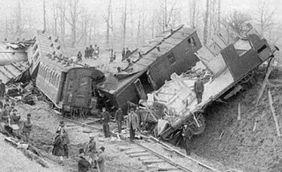 Catastrofa feroviară de la Ciurea (31 decembrie 1916/13 ianuarie 1917) - foto preluat de pe ro.wikipedia.org