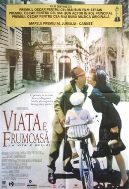 La vita é bella - Afișul românesc al filmului - foto preluat de pe ro.wikipedia.org