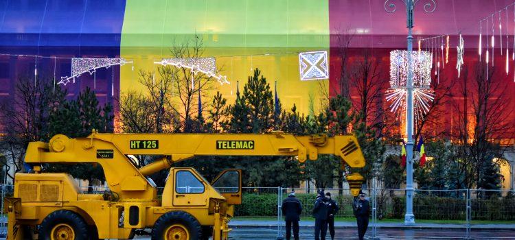 USR apără Piața Victoriei - foto preluat de pe usr.ro