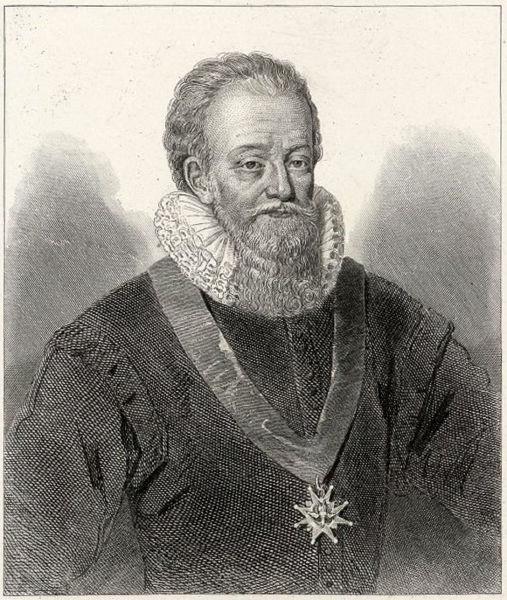 Charles de Montmorency-Damville (1537-1612) was a French nobleman, Baron of Damville, Admiral of France (mpression by Léopold Massard) - foto preluat de pe en.wikipedia.org