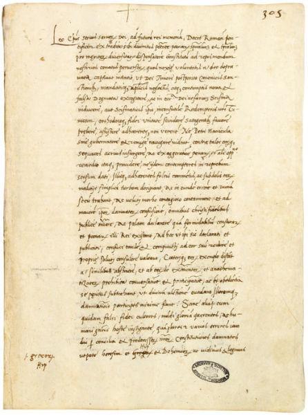 Decet Romanum Pontificem - foto preluat de pe ro.wikipedia.org