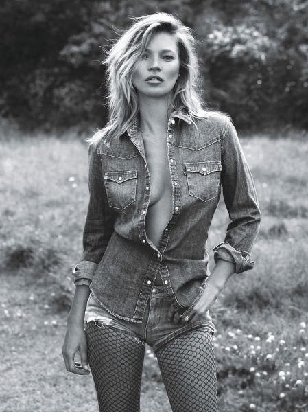 """Katherine Ann """"Kate"""" Moss (n. 16 ianuarie 1974, Croydon, Londra) este un fotomodel britanic - foto preluat de pe www.katemoss.com"""