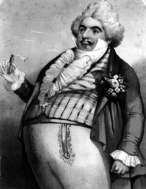 Luigi Lablache as Don Pasquale in the 1843 premiere - foto preluat de pe en.wikipedia.org
