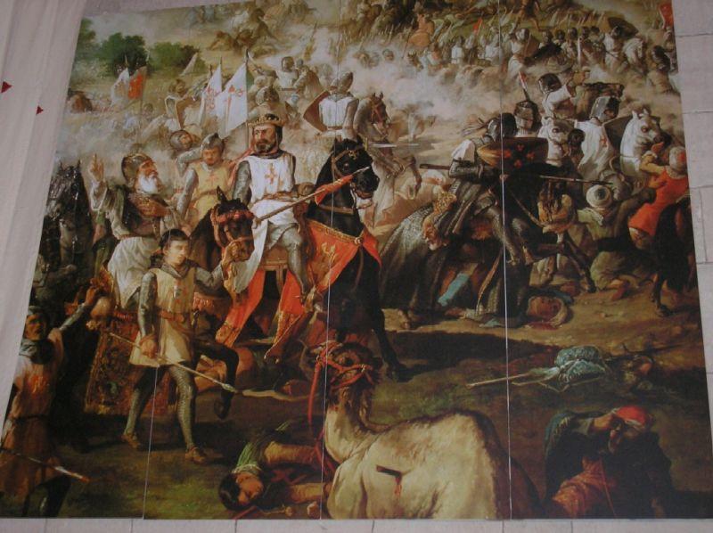 Escena d'una batalla del llibre de les Cantigas de Santa María d'Alfons X el Savi - foto preluat de pe ro.wikipedia.org