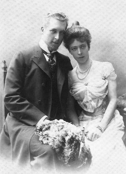 Albert și soția sa, Elisabeta - foto preluat de pe ro.wikipedia.org