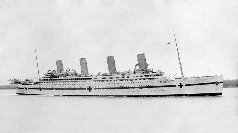 His Majesty's Hospital Ship (HMHS) Britannic - foto preluat de pe en.wikipedia.org