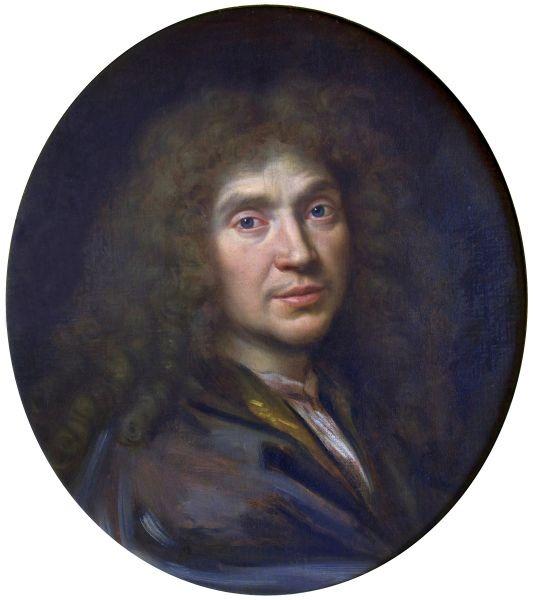Portrait of Molière by Pierre Mignard (ca. 1658) - foto preluat de pe ro.wikipedia.org
