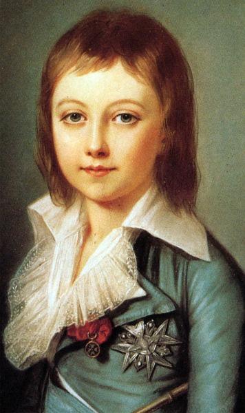 Ludovic XVII, rege al Franţei şi al Navarrei -foto preluat de pe ro.wikipedia.org