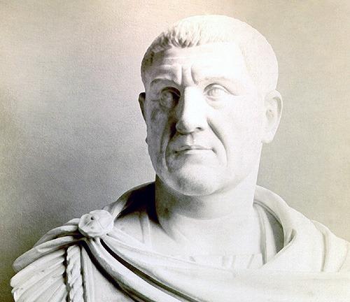 Gaius Iulius Verus Maximinus (c. 173 – aprilie 238), cunoscut ca Maximin Tracul a fost împărat roman în perioada 235–238 -foto preluat de pe ro.wikipedia.org