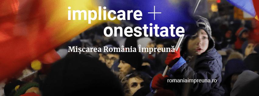 Mișcarea România Împreună - foto preluat de pe www.facebook.com