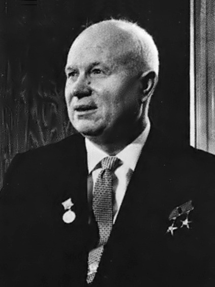 Nikita Hrușciov  In Vienna 1961- foto preluat de pe en.wikipedia.org