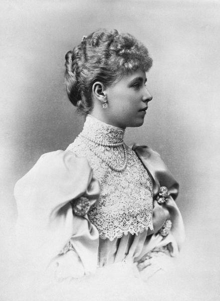 Principesa Maria în anul căsătoriei, 1893 - foto preluat de pe ro.wikipedia.org