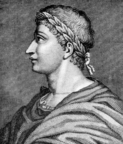 Publius Ovidius Naso (n. 20 martie, 43 î.Hr., Sulmo, azi Sulmona, provincia Aquila - d. 17 sau 18 d. Hr., Tomis, azi Constanța) a fost un poet roman, cunoscut în română sub numele de Ovidiu - foto preluat de pe ro.wikipedia.org
