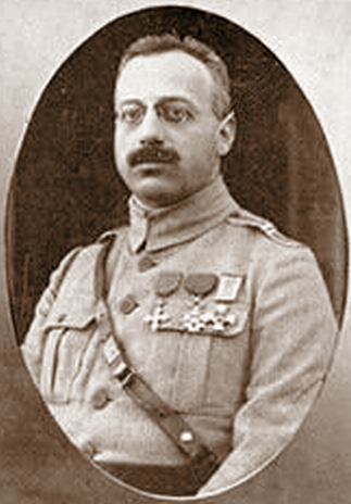 Locotenent-colonelul Radu R. Rosetti, șeful Biroului Operații al Marelui Cartier General, în timpul Primului Război Mondial - foto preluat de pe ro.wikipedia.org