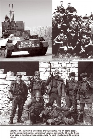 Războiul din Transnistria (1990-1992) Eroi moldoveni anonimi - foto preluat de pe cersipamantromanesc.wordpress.com