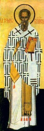 Sfântul Sfinţit Mucenic Simeon, ruda Domnului, Episcopul Ierusalimului. Prăznuirea sa de către Biserica Ortodoxă se face la data de 27 aprilie - foto preluat de pe ro.orthodoxwiki.org