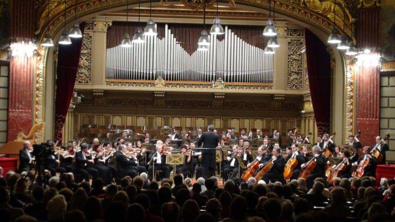 """Filarmonica """"George Enescu"""" - foto preluat de pe www.facebook.com"""