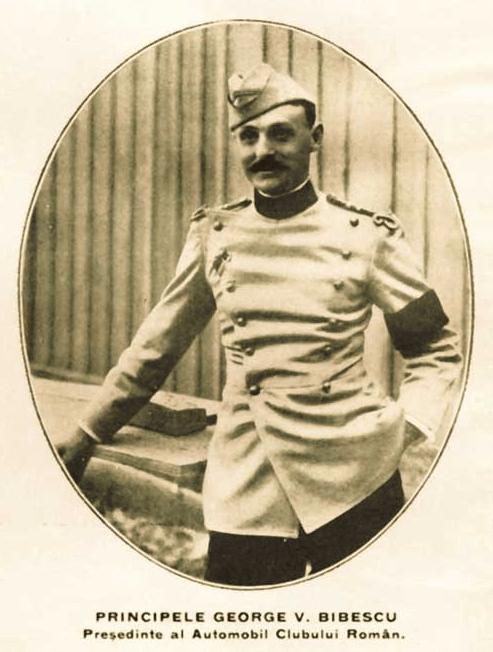 Principele George Valentin Bibescu - președinte ACR - foto preluat de pe ro.wikipedia.org