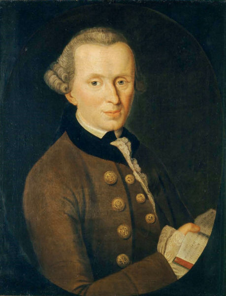 Immanuel Kant (n. 22 aprilie 1724, Königsberg, Prusia – d. 12 februarie 1804, Königsberg, URSS) a fost un filosof german, unul din cei mai mari gânditori din perioada iluminismului în Germania - foto preluat de pe en.wikipedia.org