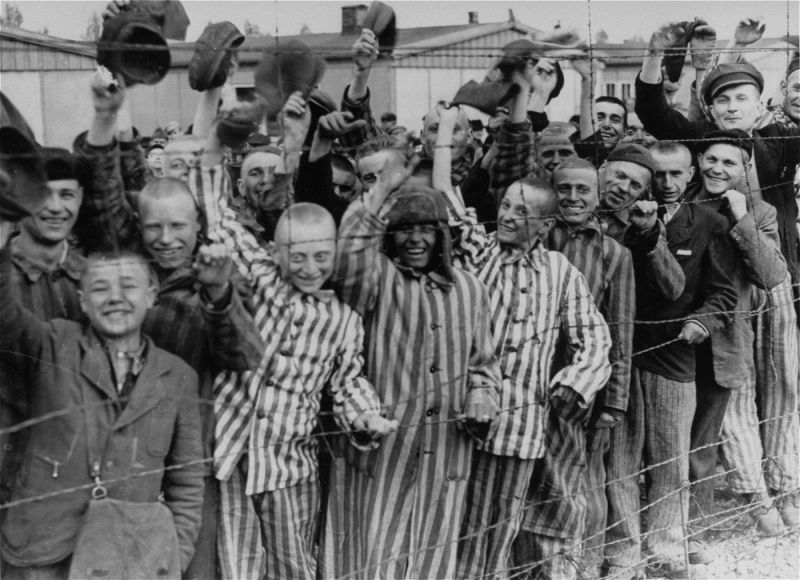 Lagărul de concentrare Dachau - foto preluat de pe ro.wikipedia.org