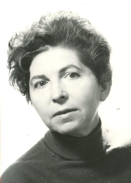 Maria Banuș (n. 10 aprilie 1914, București – d. 14 iulie 1999) a fost o poetă, traducătoare și eseistă română, de origine evreiască - foto preluat de pe ro.wikipedia.org