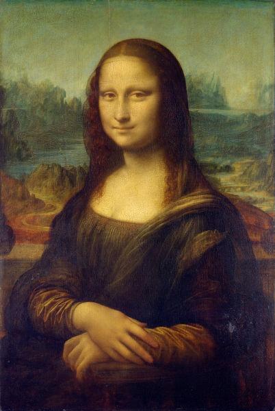 Mona Lisa (1503-1506), Muzeul Luvru - foto preluat de pe ro.wikipedia.org