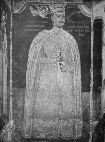 Petru Cercel (cca. 1556 – martie 1590) a fost domnul Ţării Româneşti în perioada 29 august 1583 – 16 aprilie 1585.  (Petru Cercel la Mănăstirea Căluiu) - foto preluat de pe ro.wikipedia.org