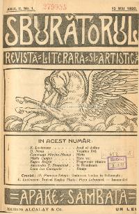 Sburătorul - revistă literară artistică şi culturală (19 aprilie 1919 - 7 mai 1921 și martie 1926 - iunie 1927) - ffoto preluat de pe dspace.bcucluj.ro