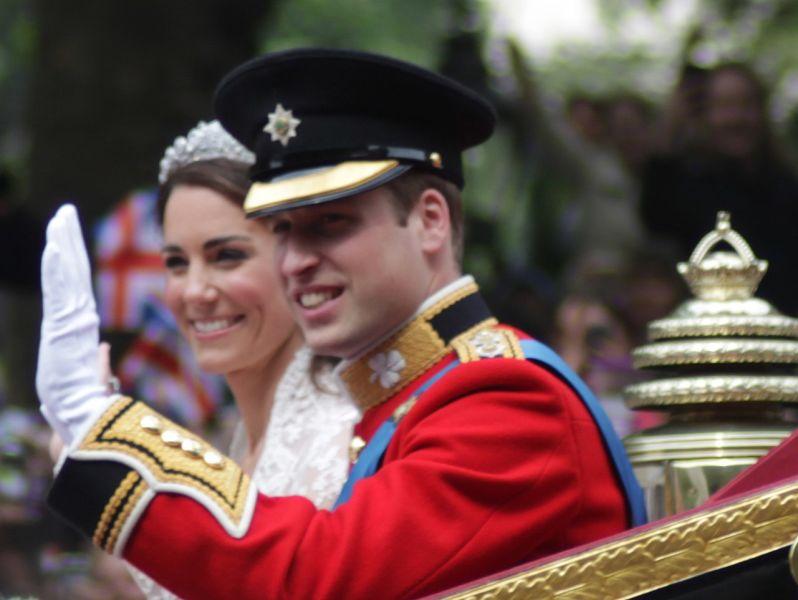 Căsătoria Prințului William, Duce de Cambridge, cu Kate Middleton (Catedrala Westminster din Londra , 29 aprilie 2011) - foto preluat de pe ro.wikipedia.org