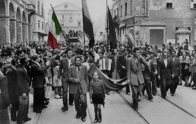 Italy's Liberation Day or simply April 25 is a national Italian holiday commemorating the end of the second world war and the end of Nazi occupation of the country - foto preluat de pe www.italoamericano.org