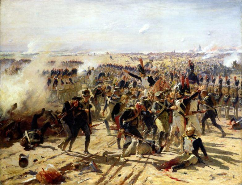 Bătălia de la Aspern-Essling (21 mai - 22 mai, 1809) - foto preluat de pe ro.wikipedia.org
